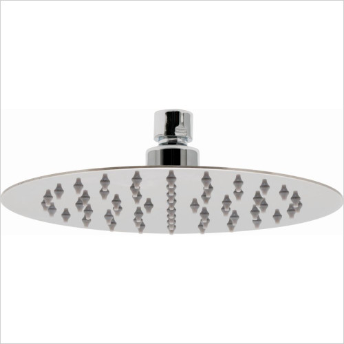 Vado - Aquablade Slimline Round Shower Head 200mm (8'')
