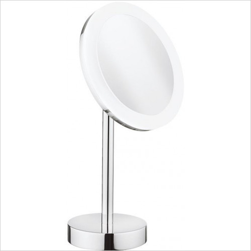 Crosswater - Pro Illuminated Mirror LED Rechargeable & Stand