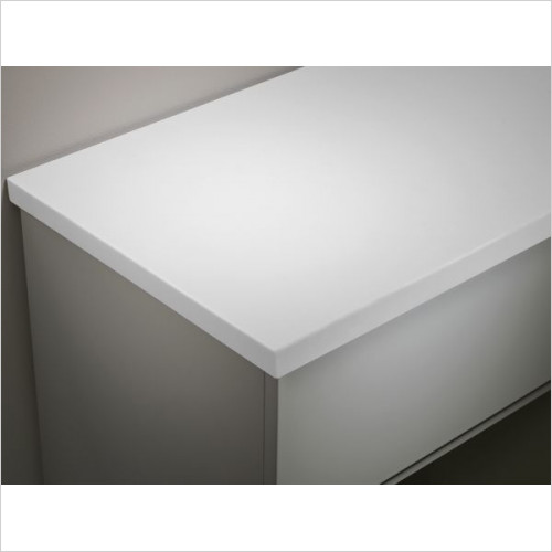 Tavistock Bathrooms - Standard Depth Solid Surface Top 1220mm