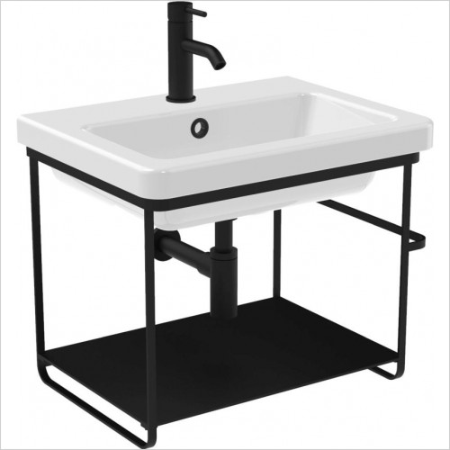 Saneux - 46.5 x 60cm Wall Mounted Washstand