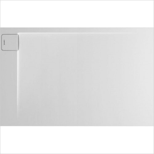 Duravit - P3 Comforts Shower Tray 1400x900mm Rectangle Corner Left