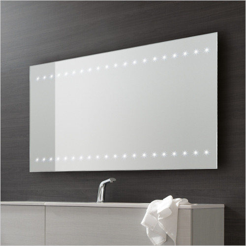 Bathroom Origins - Whitestar Mirror LED 120x70cm