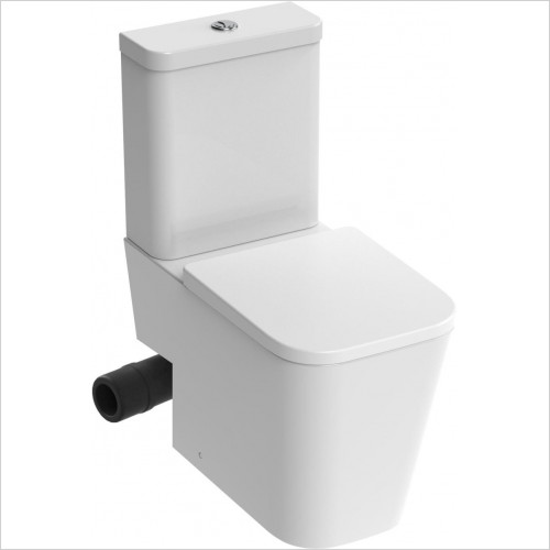 Saneux - Matteo Close Coupled WC Pan Rimless - LH Soil Exit Only
