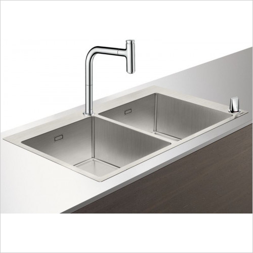 Hansgrohe - C71-F765-10 Sink Combination 370 x 370mm