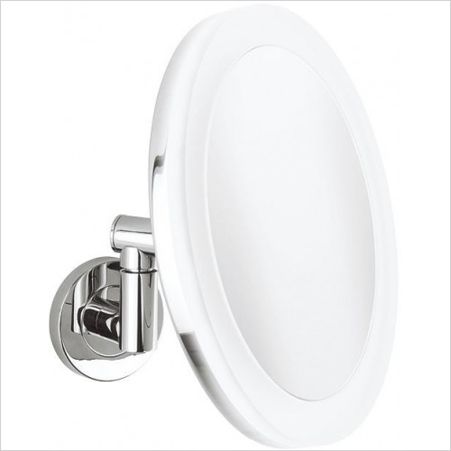 Crosswater - Pro Illuminated Mirror LED Rechargeable