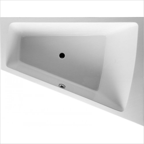 Duravit - PaioVA Bathtub 1700x1300mm Corner Right Built-In Support Fra