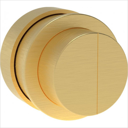 Saneux - Flushe 2.0 Flush Button For HC2030 Cistern Brushed Brass