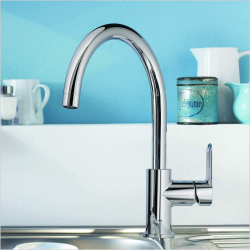 Grohe - BauEdge OHM Sink C-Spout Mixer Tap
