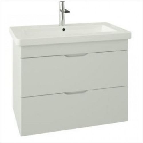 Saneux - Indigo 2-Drawer Wall Mounted Unit For 800mm Basin