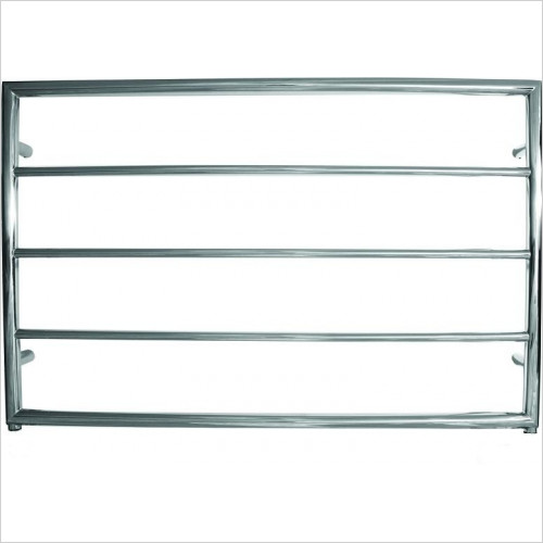 JIS Sussex - Alfriston Electric Flat Fronted Towel Rail 650x1000mm