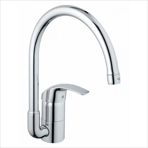 Grohe - Eurosmart Kitchen Sink Mixer Swivel Tubular Spout Lever