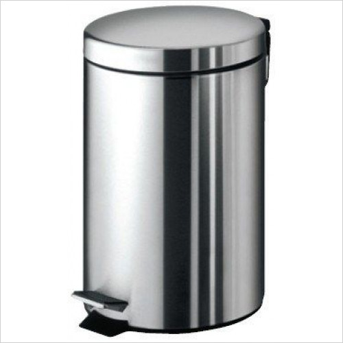 Bathroom Origins - Gedy Complements Pedal Bin 7 Litre