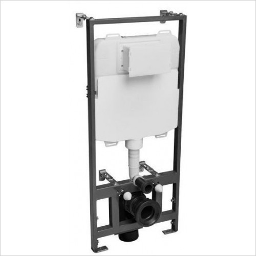 Tavistock - Mechanical 1.17m Wall Hung Frame - 6/3l Exc Flush Plate