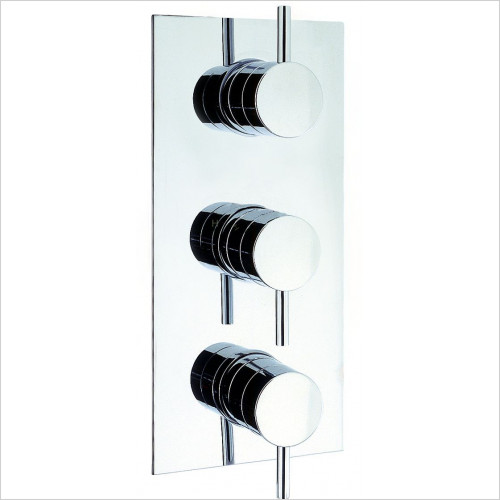 Crosswater - Fusion Thermostatic Triple 2 Way Concealed Shower Valve