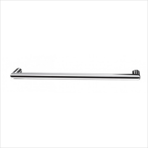 Saneux - Tempus Solo 600 x 80mm Dry Electric Towel Rail 12V - Tubular