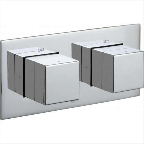 Tablet Notion Horizontal Concealed Thermostatic Valve