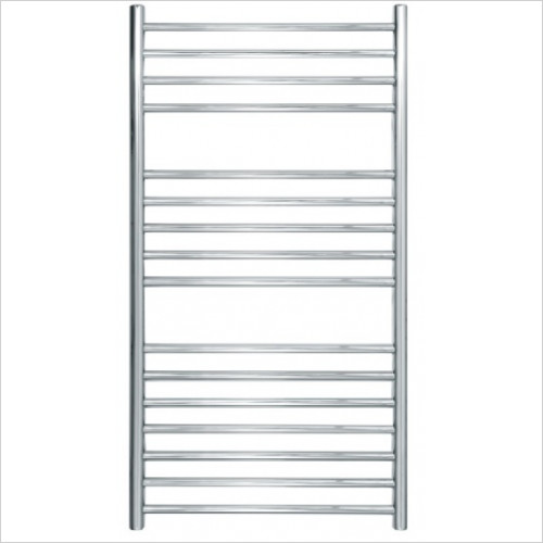 JIS Sussex - Steyning Adj Electric Flat Fronted Towel Rail 1000x520mm