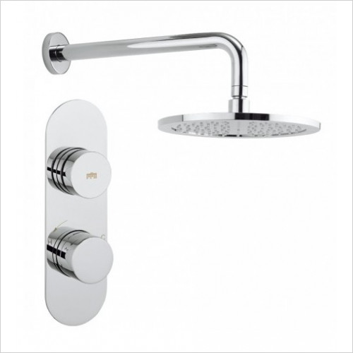 Crosswater - Dial Thermostatic Valve 1 Control With Central Trim