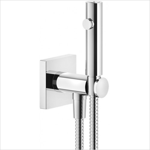 Gessi - Rilievo Shut-Off Douchette With Pipe Connection