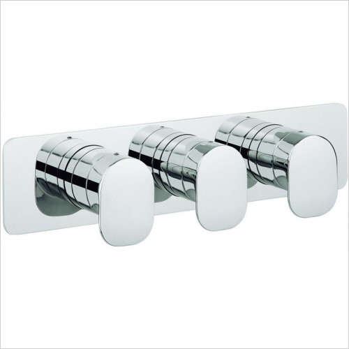 Crosswater - Zero Two Thermostatic Shower Valve, Landscape