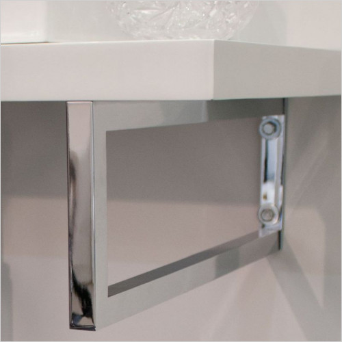 Saneux - Decorative Countertop Towel Rail Bracket 750 x 1500mm