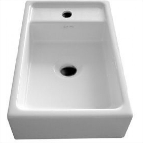 Cifial - F5 Cloakroom Washbasin Central Mounted 1 Tap Hole