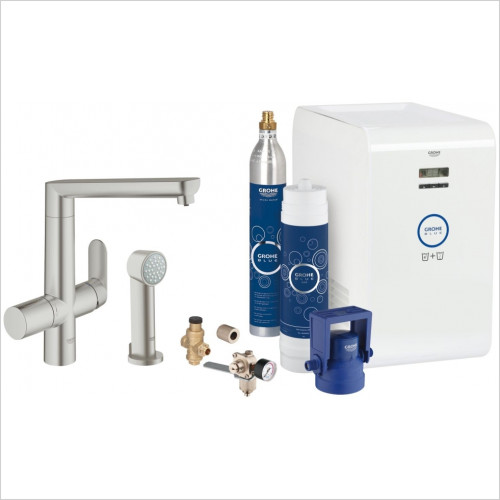 Grohe - Blue K7 Chilled & Sparkling Starter Kit