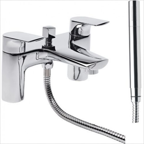 Tavistock - Strike Deck Mounted Bath Shower Mixer
