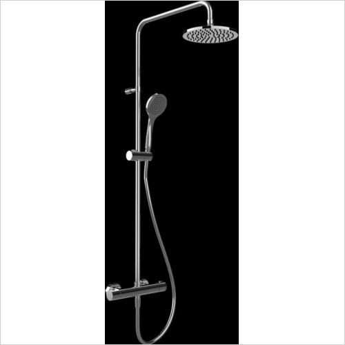 Gessi - Emporio Wall-Mounted Thermostatic Mixer With Showerhead