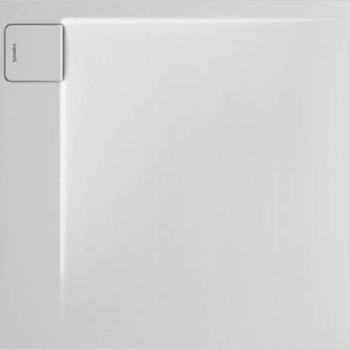 Duravit - P3 Comforts Shower Tray 900x900mm Square Corner Left