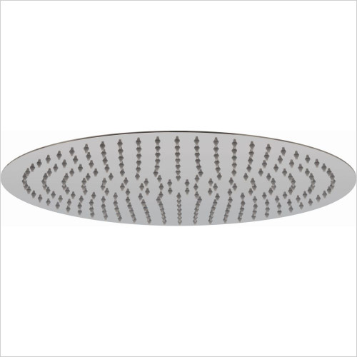 Vado - Aquablade Slimline Round Shower Head, 400mm (16'')