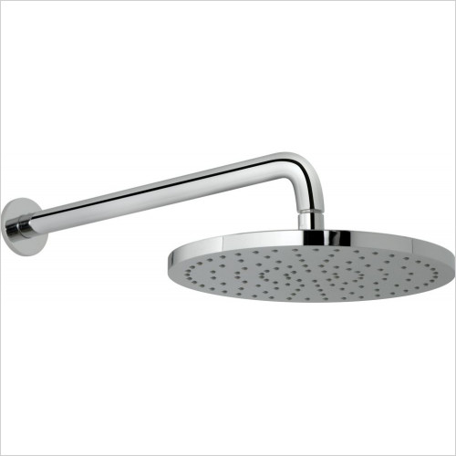 Vado - Saturn 254mm (10'') Round Shower Head & Arm