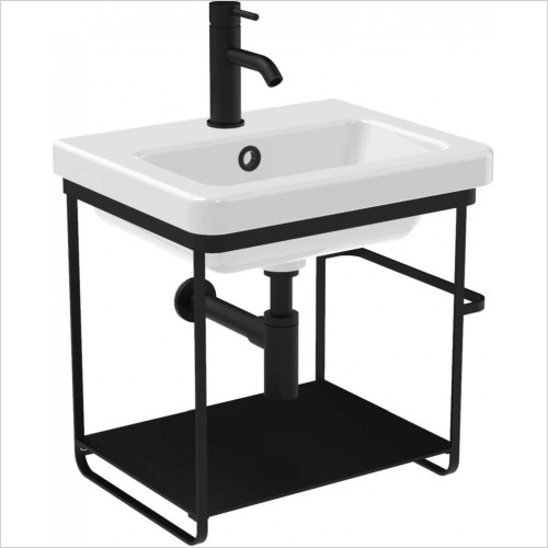 Saneux - Volato 46.5 x 50cm Wall Mounted Washstand
