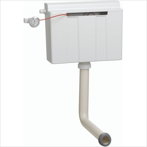 Crosswater - Concealed Cistern Button & Cable