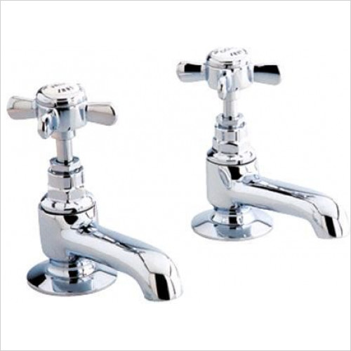 Burlington - Stafford Long Nose Basin Taps (Including The Handles)