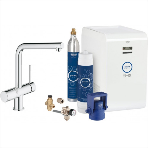 Grohe - Blue Minta Chilled & Sparkling Starter Kit