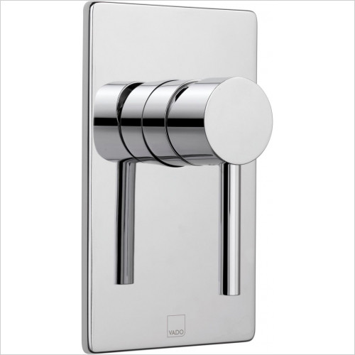 Vado - Zoo Square Concealed Manual Valve Single Lever