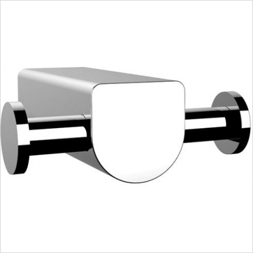 Gessi - Rilievo Wall-Mounted Double Robe Hook.