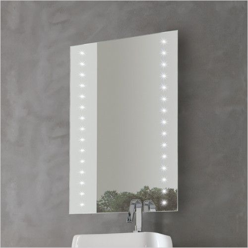 Bathroom Origins - Whitestar Mirror LED 60x80cm