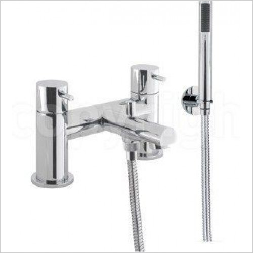 Crosswater - Kai Lever Bath Shower Mixer, Deck Mounted