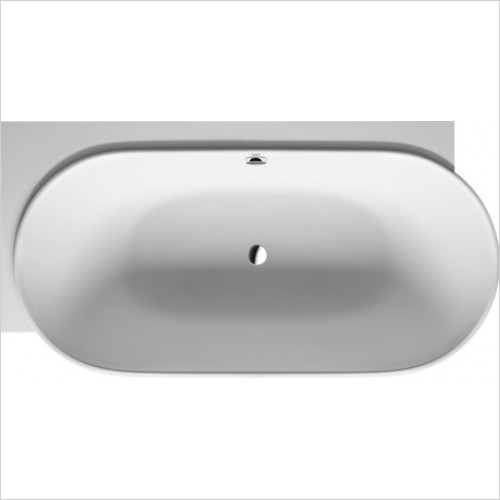 Duravit - LUV 1850x950mm Corner Left With Two Backrest Slope