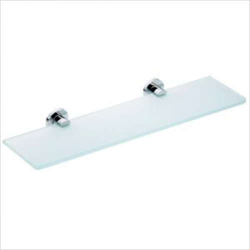 Violek - Clear Glass Shelf 400mm