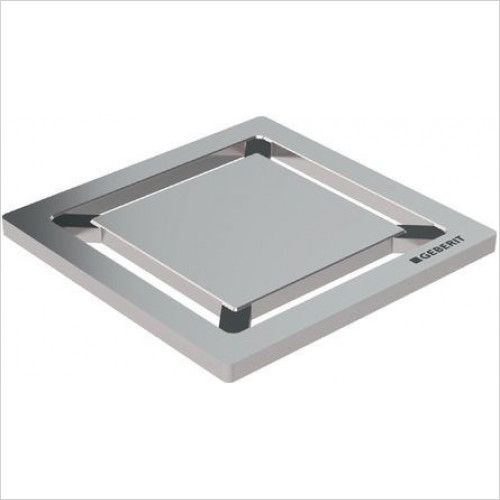 Geberit - Design Grating ''Square'', 8 x 8cm