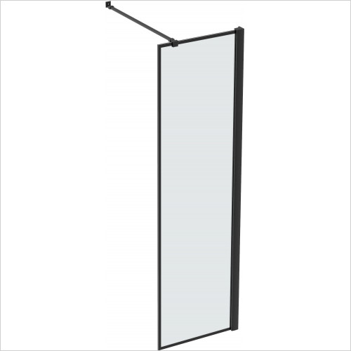 Saneux - Walkin MBX 8mm Walk-In Front/Side Panel Inc Telescopic Bar