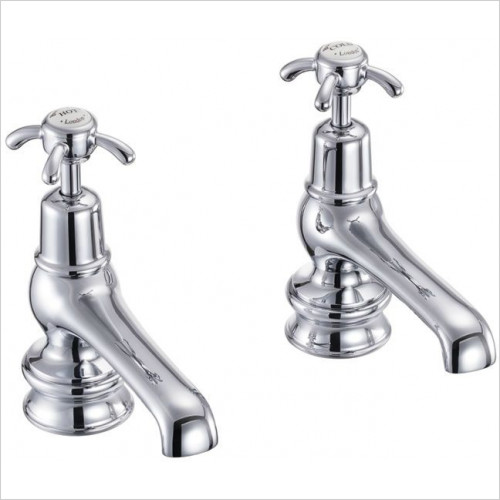 Burlington - Anglesey Regal 5'' Basin Taps
