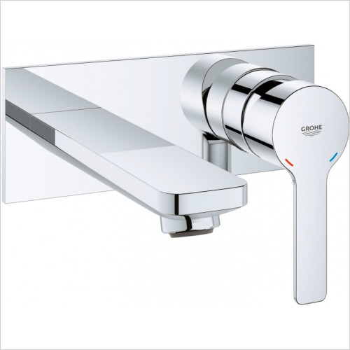 Grohe - Lineare 2 Hole Basin Mixer M-Size
