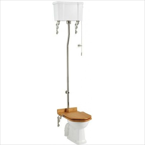 Burlington - High Level Cistern & Fittings Only (For Pull Rod)