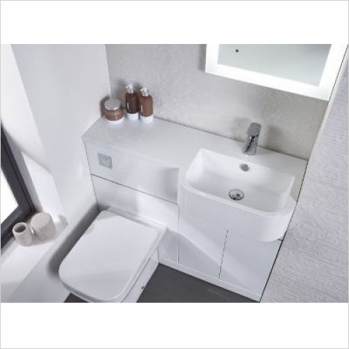 Tavistock Bathrooms - Match Isocast Basin 1000mm RH