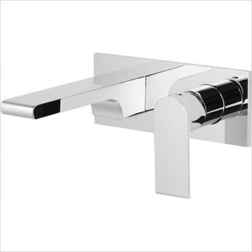 Roper Rhodes - Code Wall Mounted Basin Mixer Without Pop-Up Waste