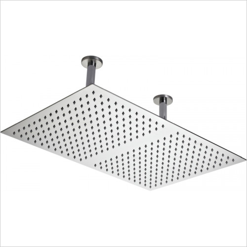 Hudson Reed - Rectangular Ceiling Mounted Shower Head 600 x 400mm